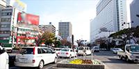 上本町駅周辺