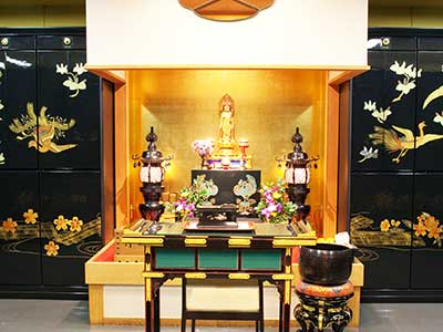 納骨堂祭壇